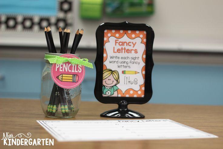 Miss Kindergarten: Super Sight Word Spellers!
