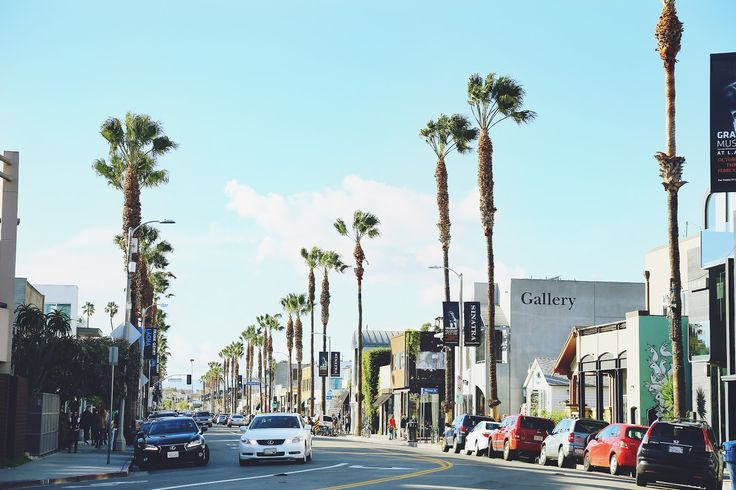 Abbot Kinney Blvd. California