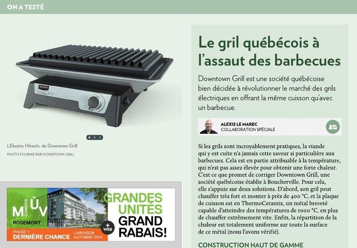 Le gril québécois à l'assaut des barbecues - LaPresse+