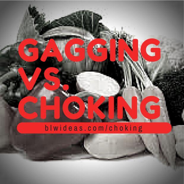 Gagging vs Choking - Baby Led Weaning Ideas