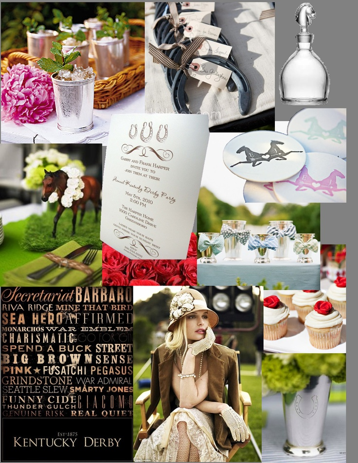 Kentucky Derby Party Inspiration  #kentuckyderby
