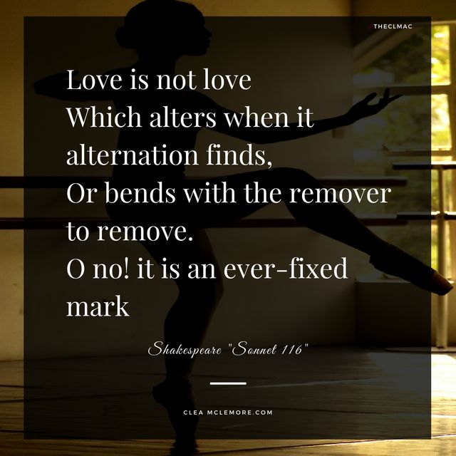 Shakespeare Sonnet 116 With Images Sonnet 116 Best Love