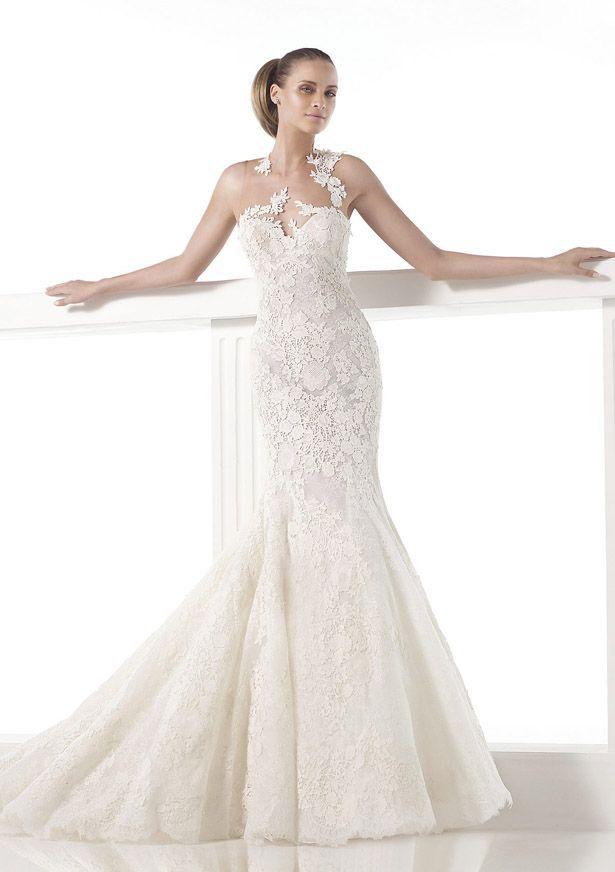 19 best Wedding Dresses images on Pinterest | Wedding frocks ...