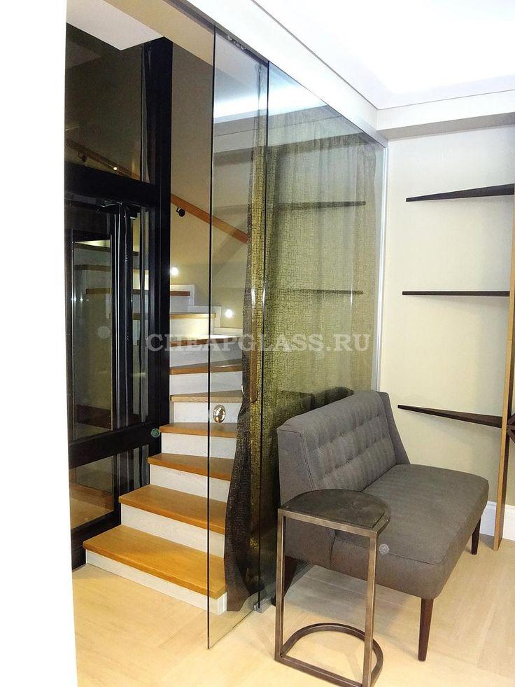 Раздвижные межкомнатные двери и перегородки из стекла. Dorma Agile 150. ЖК Бристоль. Sliding interior doors and walls of glass.