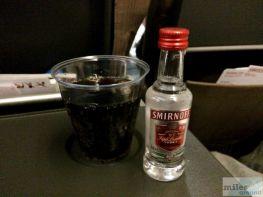 Vodka Cola - Check more at http://www.miles-around.de/trip-reports/economy-class/swiss-airbus-a340-300-economy-class-zuerich-nach-singapur/,  #A340-300 #Airbus #Airport #avgeek #Aviation #EconomyClass #Flughafen #Lounge #Niklas #Reisebericht #SWISS #SWISSSenatorLounge #Trip-Report