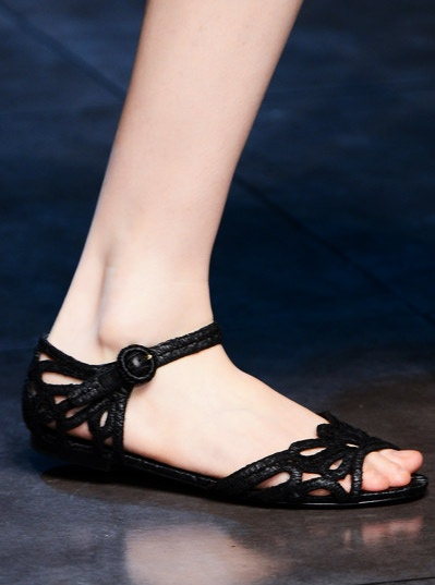 Woven Sandals Trend for Spring Summer 2013.  Dolce & Gabbana Spring Summer 2013. #trends