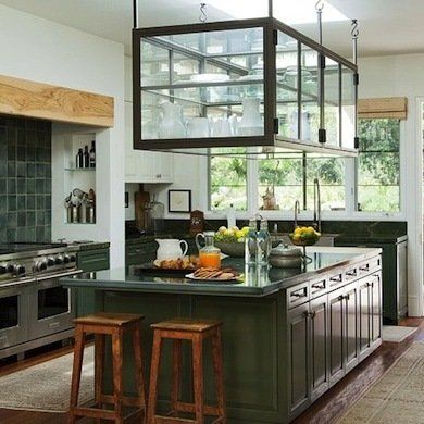 13 best images about hanging kitchen cabinets on pinterest for Hanging kitchen cabinets