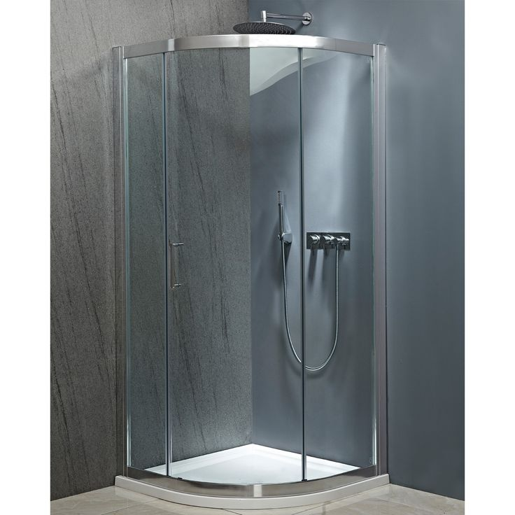 200cm High Easy Clean Glass 8mm safety Glass High Polished Frame Double Ball Bearing Rollers Chrome on Brass Handle Reversible Design Quick Release Doors for Easy Cleaning Concealed Fixings Code SE904 Dimensions 90 x 90 Adjustment 87 - 89.5 Door Opening 50 Height 200