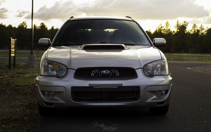 #subaru #wrx #wagon #car | Straight On | With my 2005 Subaru WRX Wagon
