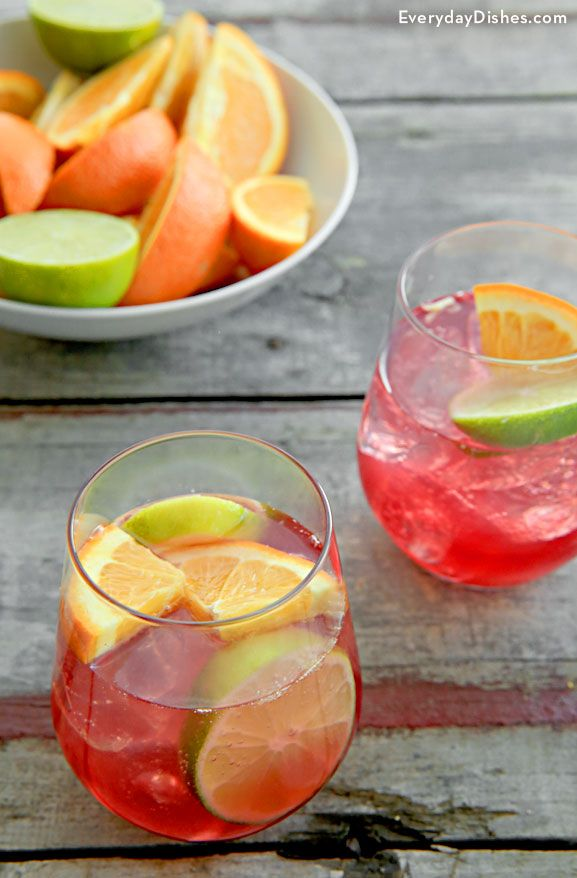 Ladies and gents, this one is for the books—our cranberry orange crush cocktail is bright, light and tasty. We used plenty of fresh-squeezed fruit like oranges and lime for the perfect balance of sweet and tart flavor and lemon-lime soda for a pop of fizz.