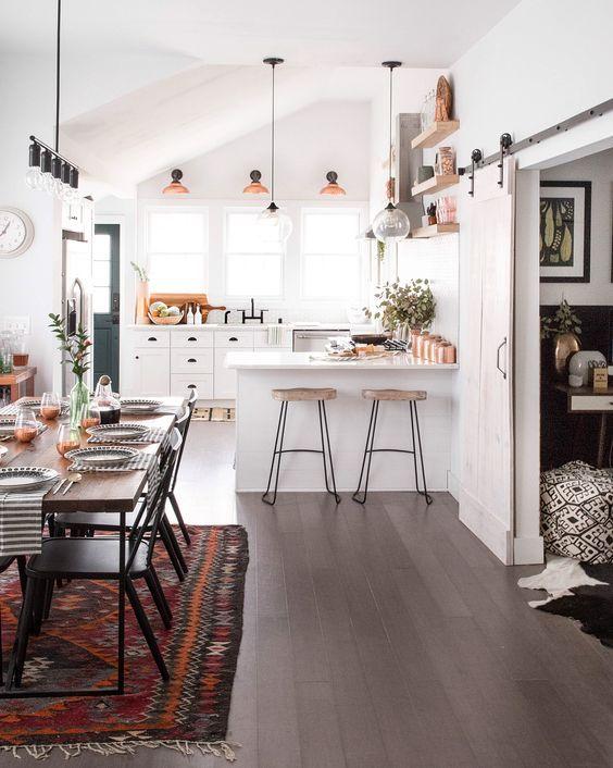 Die besten 25+ Landküche Beleuchtung Ideen auf Pinterest - schöner wohnen kleine küchen