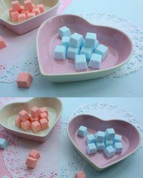 懐かしいラムネ菓子~混ぜてぎゅっ♡