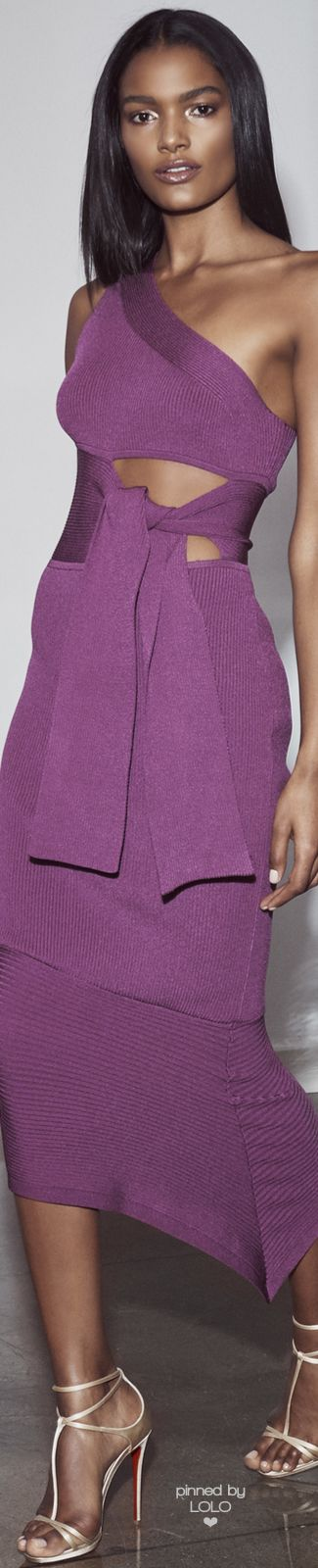 CUSHNIE ET OCHS PRE-FALL 2016 |  women fashion outfit clothing style apparel @roressclothes closet ideas