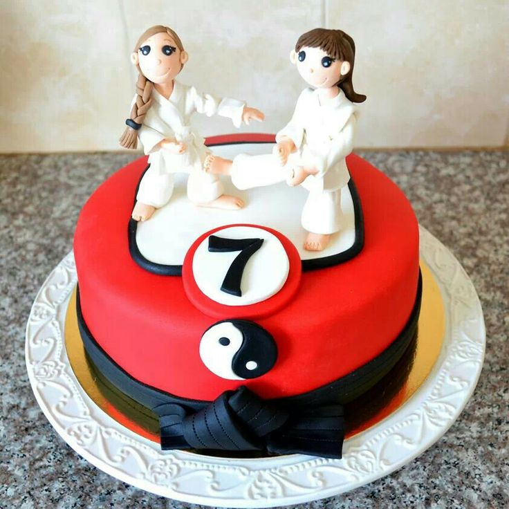 karate cakes