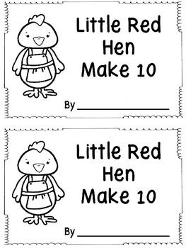 Students can count on these ten frames to determine how many more loaves of bread are needed to make 10. Put the pages in any order you wish. There are two books on a page making it easy peasy to run through the copy machine with a staple on the left side.