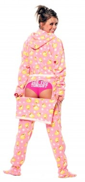 You are never too old for footed pajamas...And, yes...every girl wants these!