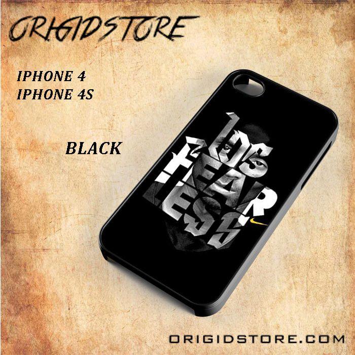 Nike logo Fearless Kobe Bryen Snap On Black White 3D For Iphone 4/4S Case