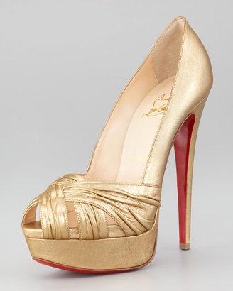 Red Flatform Shoes