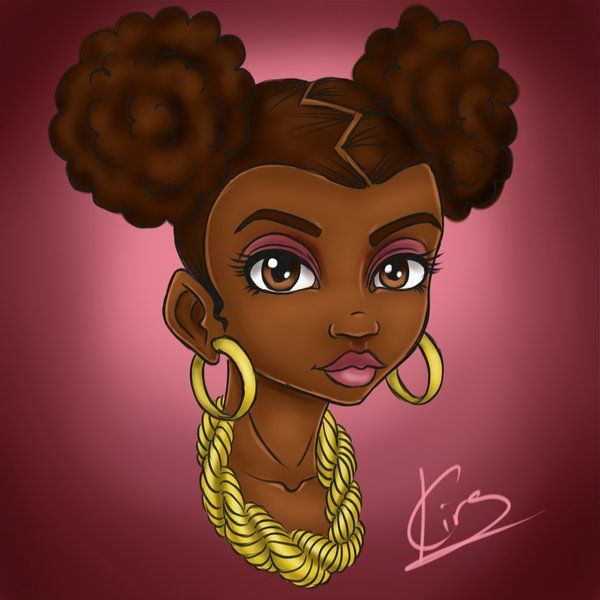 17 Best Images About ART-Natural Hair/Afro On Pinterest