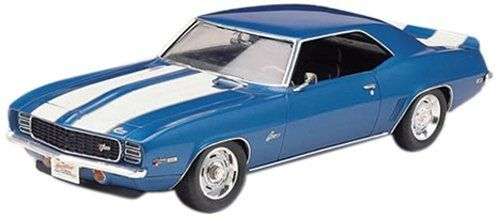 Revell 1:25 69 Camaro Z/28 by Revell. $14.53. From the Manufacturer                The '69 was one of the best selling of all the Camaro models over the years. The special Z/28TM package added a unique 302 cubic inch V-8 and other high performance parts to create a blend of good handling as well as powerful acceleration.                                    Product Description                132513 Features: -69 Camaro Z/28.-Detailed Camaro body.-Chrome plated parts and ...