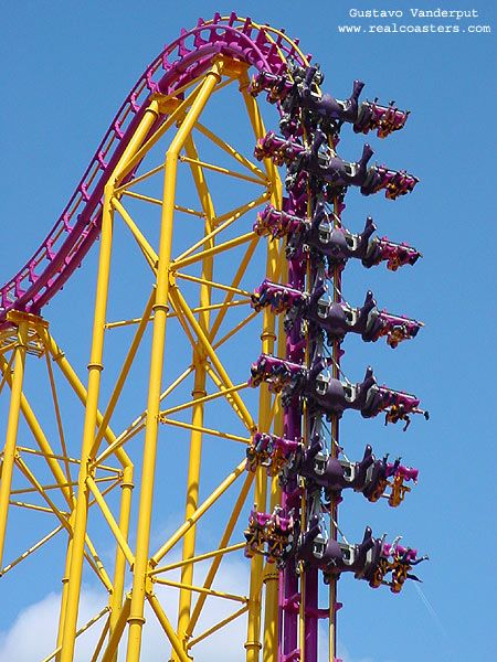X photo from Six Flags Magic Mountain