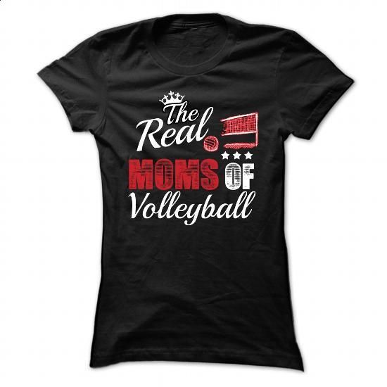 Real Moms of Volleyball - 0316 - #t shirt #long sleeve tee shirts. I WANT THIS => https://www.sunfrog.com/LifeStyle/Real-Moms-of-Volleyball--0316-Ladies.html?60505