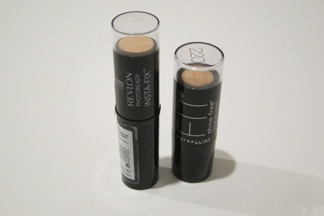 Australian Makeup and Skin care: Maybelline Fit me shine free stick foundation Vs R...
