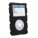 Speck Products iPod Video ToughSkin w/ Belt Clip - Black (Electronics)By Speck