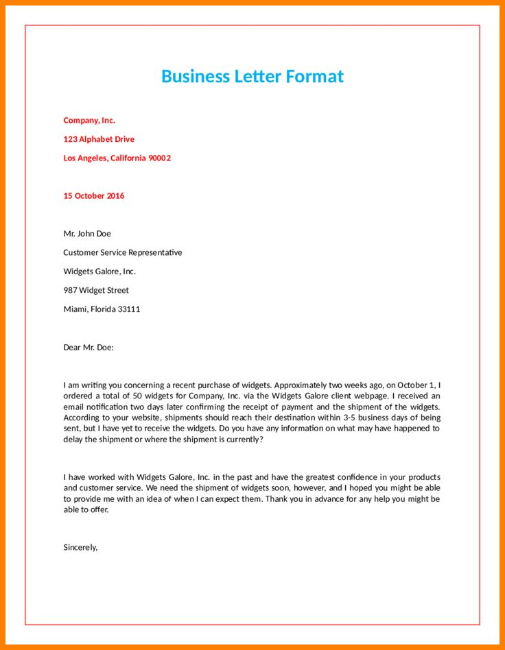 The 25+ best Official letter format ideas on Pinterest Official - sample business email