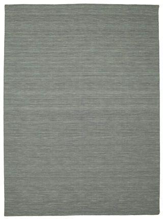KR 2777.- Kelim loom - Mørkegrå tæppe 250x350