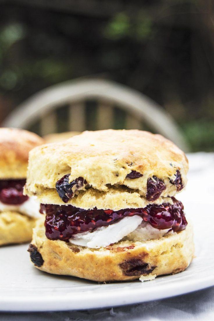 My Vibrant Kitchen | Vegan Cranberry Scones | http://myvibrantkitchen.com use gluten free flour