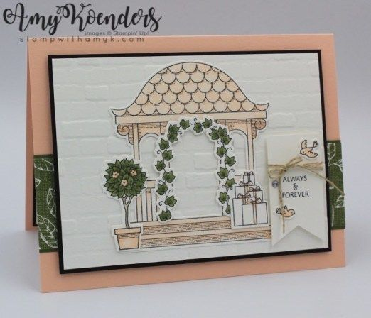 Stampin' Up! Pretty Pavilion for the Happy Inkin' Thursday Blog Hop