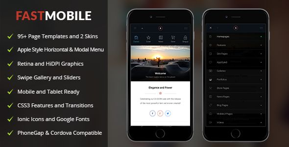 Fast Mobile | Mobile Template