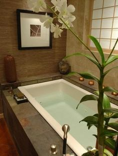 Images Of An Award Winning Master Suite Oasis asian bathroom dallas by Hilsabeck Design Associates Inc