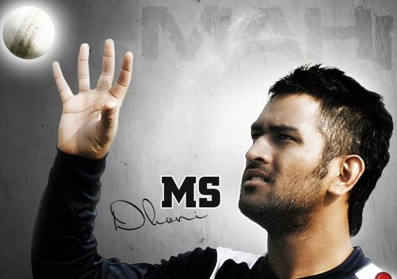 Indian Cricket Team Captain Mahendra Singh Dhoni