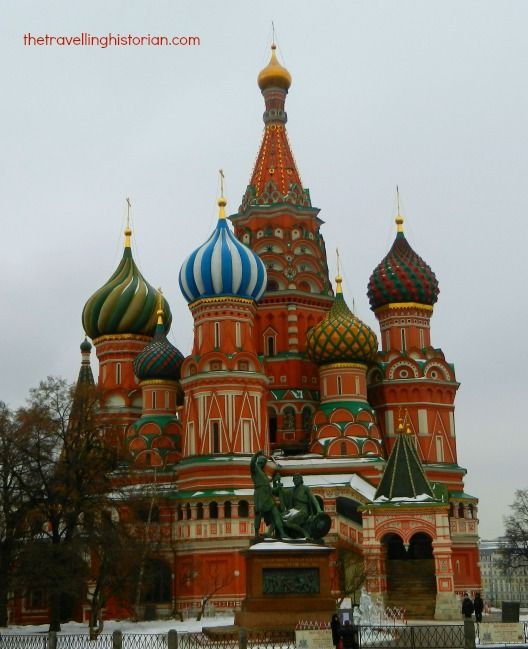 Red Square Moscow - The Travelling Historian