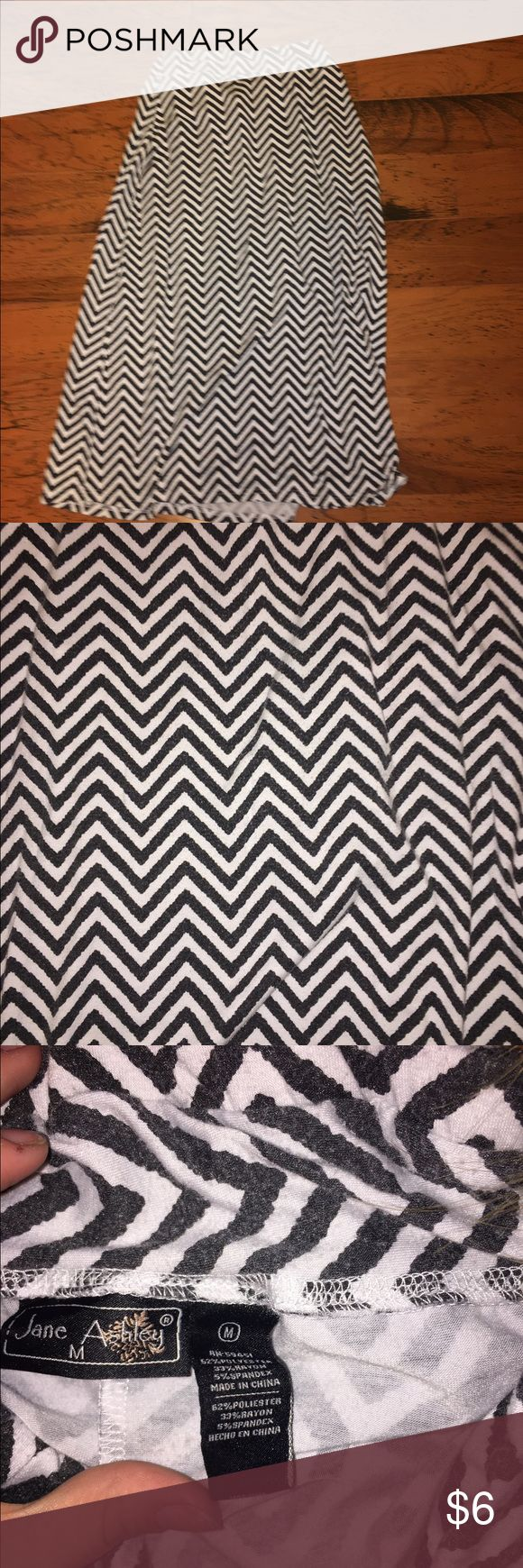 Chevron maxi skirt Perfect condition. I wouldn't SALE it if I didn't need the money. Like an ash gray. Skirts Maxi