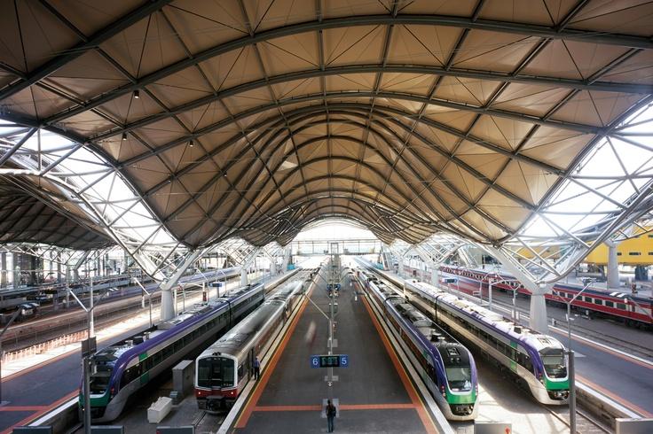Southern Cross Station  Melbourne, Australia