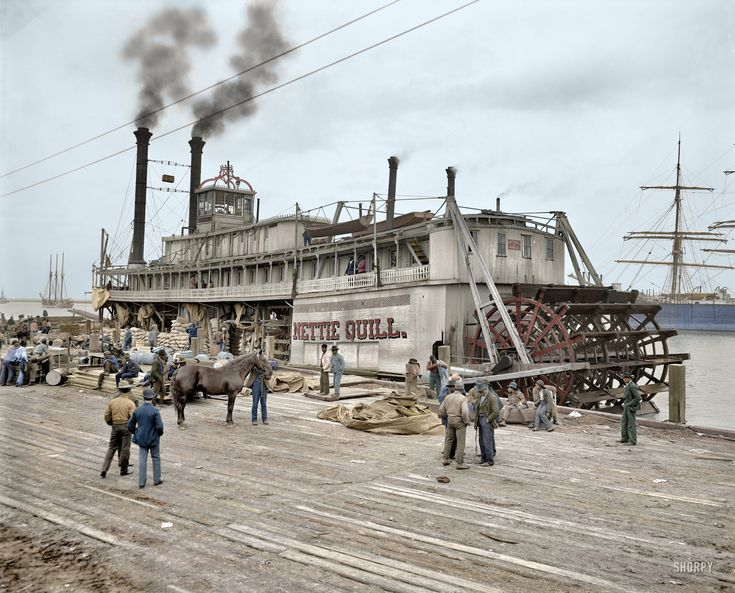 Shorpy Historic Picture Archive :: Nettie Quill (Colorized): 1906 high-resolution photo