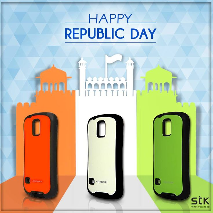 Freedom in the mind, faith in the words. Pride in our hearts and memories in our soul. Let's salute, the nation on this 66th #RepublicDay :D #STKAccessories