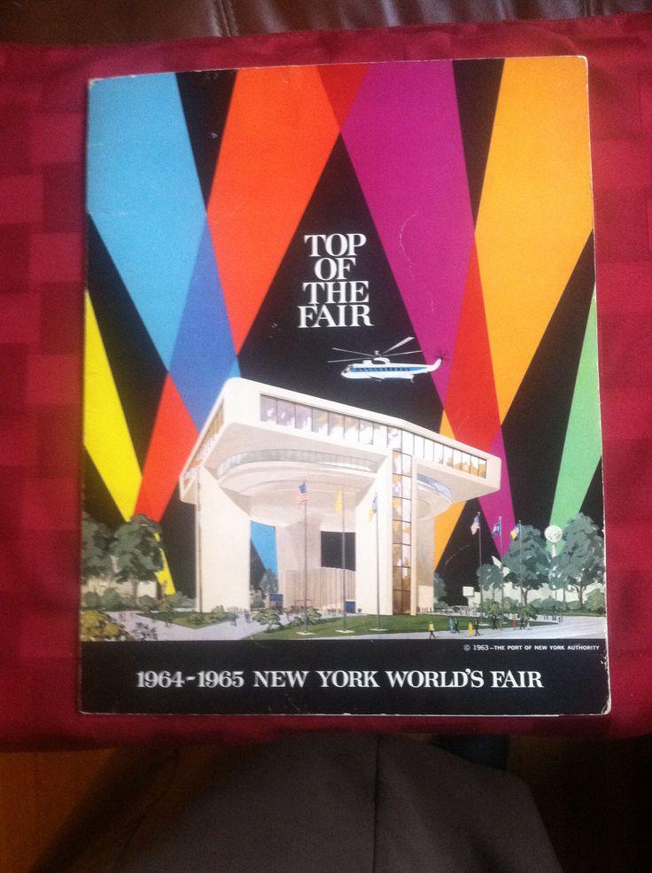 Top of the Fair menu from NY World's Fair 1964-5. Http://www.foodtimeline.org/restaurants.html#1964Fair 19645