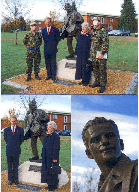 Jock Lewes Statue Unveiled At 22 Sas Camp In 2008 Uk