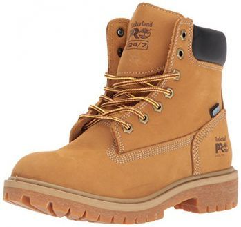 Timberland PRO Women's Direct Attach 6″ Steel Toe Waterproof Insulated Industrial and Construction Shoe