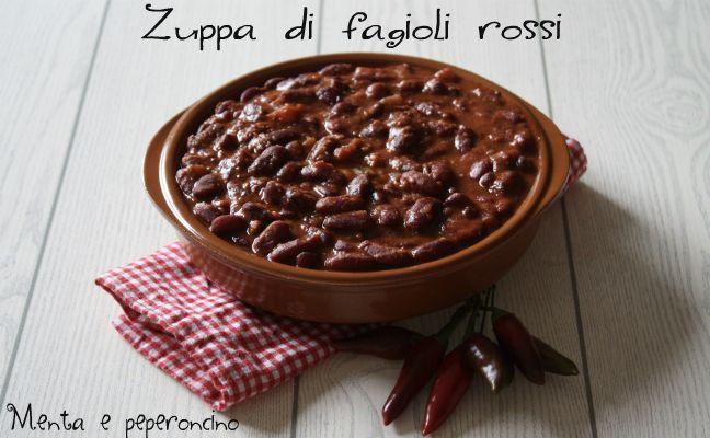 """La """"Zuppa di fagioli rossi"""" è un piatto completo e saporito, ma potete servirlo anche in piccole porzioni come contorno con un buon secondo a base di carne."""