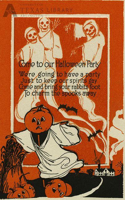 Vintage Halloween Party