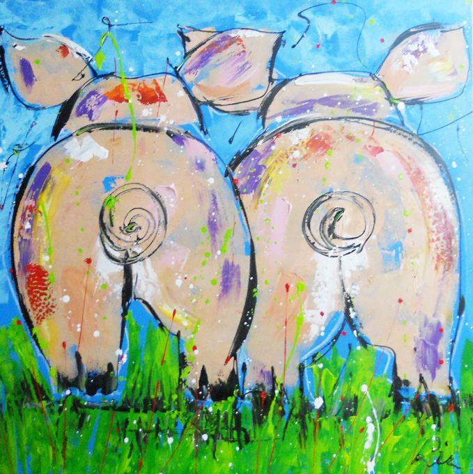 - Liz - http://www.kunstenaar-liz.nl/contents/nl/d285_varkens-schilderijen.html l