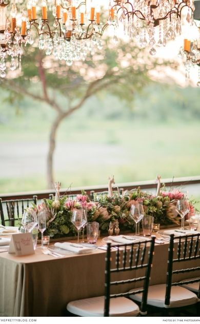 An American girl decides to pack up her life and move to South Africa for the man she loves. This is the stuff fairy tales are made of. Enjoy this beautiful safari wedding that showcases the breathtaking beauty of South Africa - and shows why Becky chose this country as her new home!