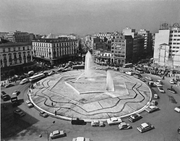 Omonoia Square, 1959. Photo by Dimitris Harissiadis. Benaki Museum Photographic Archives