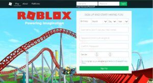 Roblox Sign In - Create Roblox Account | Design & Play Games