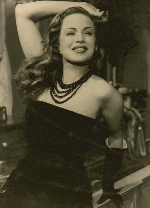 Hind Rostom, Egyptian actress & sex icon. (November 12, 1929 – August 8, 2011)